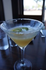 One drink with blanco liquor