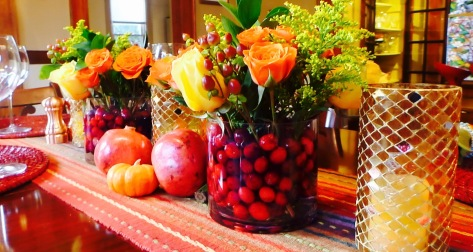 Cranberry arrangement