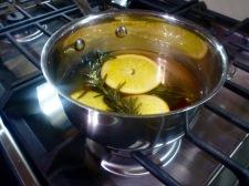 Lemons and rosemary