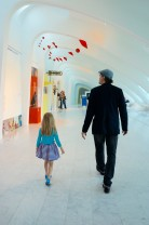 The Milwaukee Art Museum (MAM) has world class traveling exhibitions as well as incredible permanent collections.