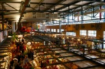 A bird's eye view of the different specialty shops housed under one roof.
