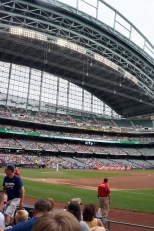 Miller Park is one of the best baseball stadiums in the country.