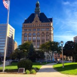 A great photo of Milwaukee's City Hall.