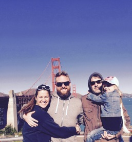 At the Golden Gate Bridge