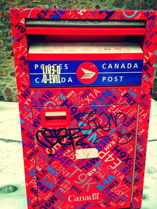 Montreal Post Box
