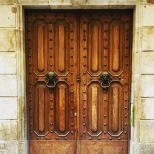 Old Doors in the Barri Gotic