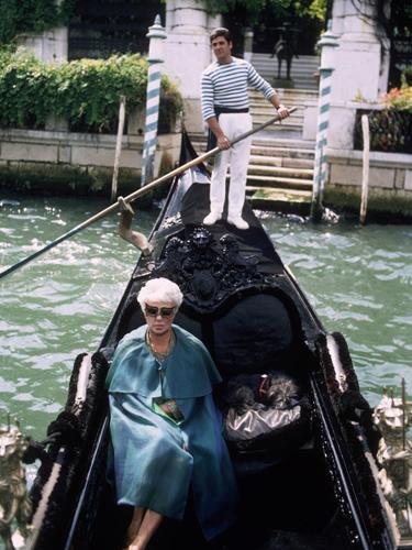 Peggy Guggenheim in Venice